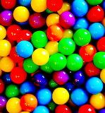 Brightest Rainbow Pinballs