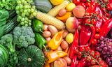 Colours, colorful, rainbow, fruit, vegetables