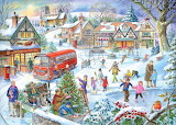 Christmas scenery-by Ray Cresswell