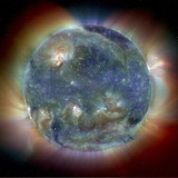 Ultraviolet image of Sun, SOHO, ESA, NASA.jpg