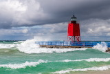 Charlevoix south pier