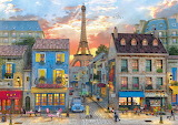 Streets of Paris - Dominic Davison