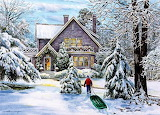 Winter Art By William Mangum...