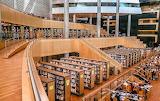 Libraries - Alexandria interior -Egypt