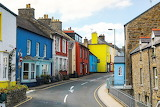 colourful welsh street