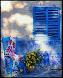 Chair and Shutters