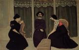 Félix Vallotton, Gossip, 1902