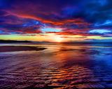 Sunset beach scotland