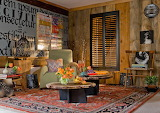 Eclectic-tiny-wooden-living-room