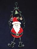 Adorable Santa Ornament