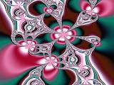 Abstract fractal art.