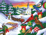 Christmas Art @ puzzlewarehouse.com...