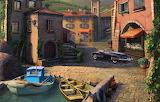 Wharf location-rendering