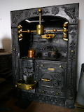 An Old Cornish Range (Cooking Stove)