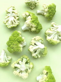 Rotate the cauliflowers