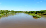 Crossing The Rio Grande on The Mother Road