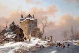 Frederik Marinus Kruseman-Pattinatori un giorno d'inverno