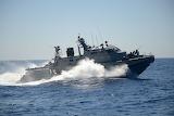 US Navy Coastal Command Boat
