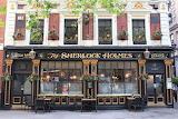 Sherlock Holmes restaurant in London