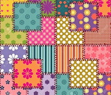 colorful quilt patterns