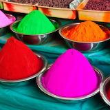 Colorful art sand