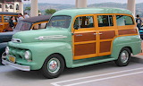 Ford F1 panel van woody