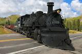 Cumbres & Toltec NG RR Locomotive #487