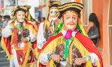 Nicaragua, El Gueguense Festival, Toro Huaco costume