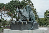 Gryphon Gryphon sculpture at the University of Guelph Ontario, C