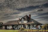 ^ Train Station, Fort Saskatchewan, Canada