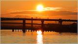 Sunrise at the Fraser River