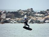POTW Airborn parachute surfer Point Judith RI