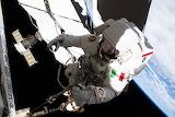 "Space ESA ""Centre swage"" ""Luca Parmitano"" EVA ISS Astronaut ©NAS"