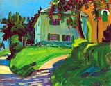 Sommer By Gabriele Münter 1908