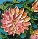 Peach Lillies