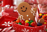 ^ Christmas Gingerbread Cookies Candy Sweets