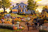 The Cow And Pumpkin Farm Tom Antonishak