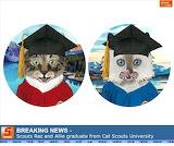 Scouts Raz and Allie graduation photo