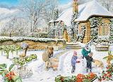 A Winter Garden - Trevor Mitchell