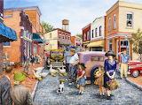 Ducks Crossing by Susan Brabeau...
