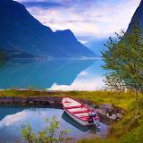 Mountain Lake, Norway...