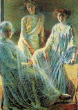 Umberto Boccioni, Tre donne, 1910-1911