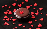 #Heart Filled Chocolate