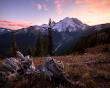 Mount Rainer Sunset