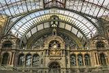 Trains - Station Antwerp Belgium