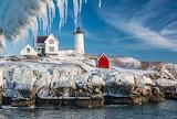 Cape Neddick Light York Maine USA