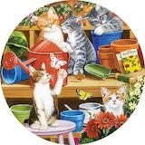 Rosiland Solomon 'Garden Shed Kittens'
