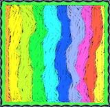 Vertical Rainbow Pattern