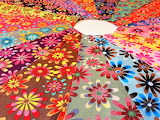 crazy daisy fabric
