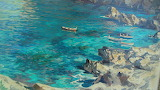 Capri Seascape by Fulvio di Sorrento